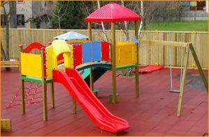 Rotomoldeo en parques infantiles
