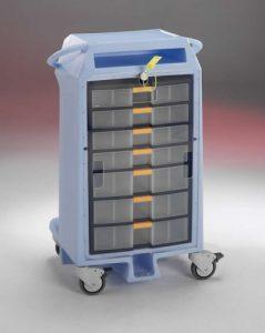 Rotomoldeo para equipamiento médico, cajones plastico Rotobasque