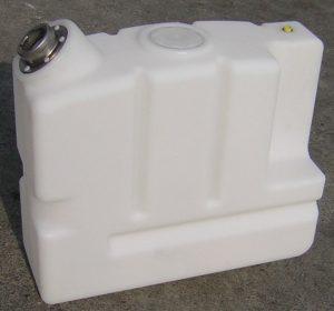 Depósito plástico blanco rotomoldeo Rotobasque