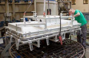 Fabricación de moldes por rotomoldeo en Rotobasque