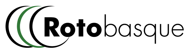 Logo de Rotobasque S.L. empresa líder del sector de rotomoldeo