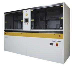 Máquina por rotomoldeo de limpieza mediante ultrasonidos