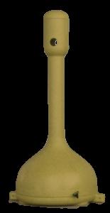 MR. SMOKE, ceniceros de plástico en rotomoldeo, amarillo rotobasque