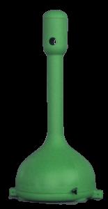 MR. SMOKE, ceniceros de plástico en rotomoldeo, verde rotobasque