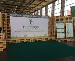 Rotobasque rotomoldeo en Berdeago, la feria vasca de sostenibilidad