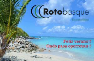 Rotobasque cierra su actividad en el mes de agosto