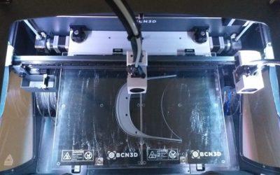 ROTOBASQUE participa en la fabricación de viseras en 3D