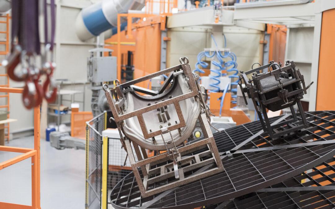 Nous avons augmenté notre capacité de production avec l'achat d'une autre machine PRM 3000